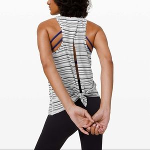 **SOLD** lululemon all tied up tank